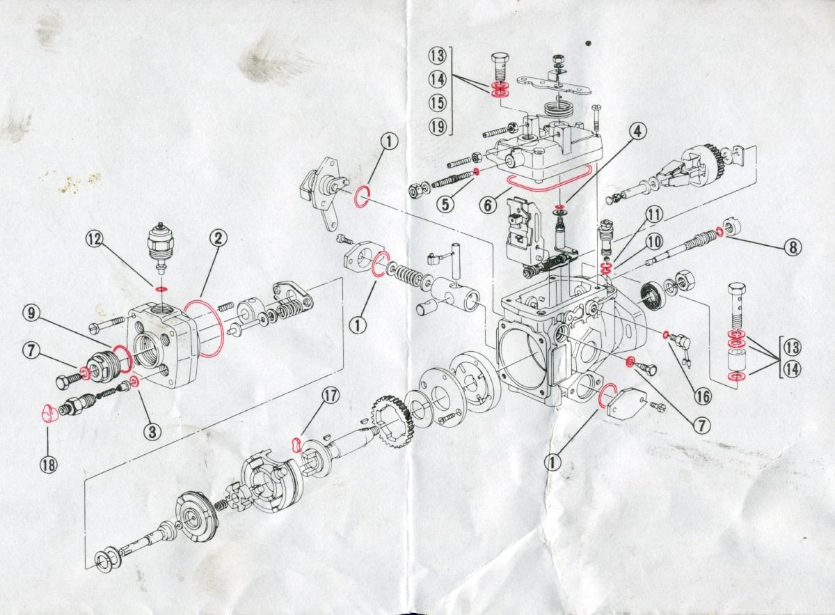 Ford Escort Diesel Pump Diagram